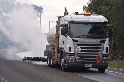 Transfer of crumb rubber modified asphalt and sealing technology to QLD and WA
