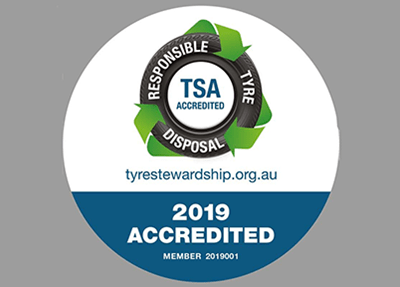 TSA accreditation displays responsible practice in waste tyre management