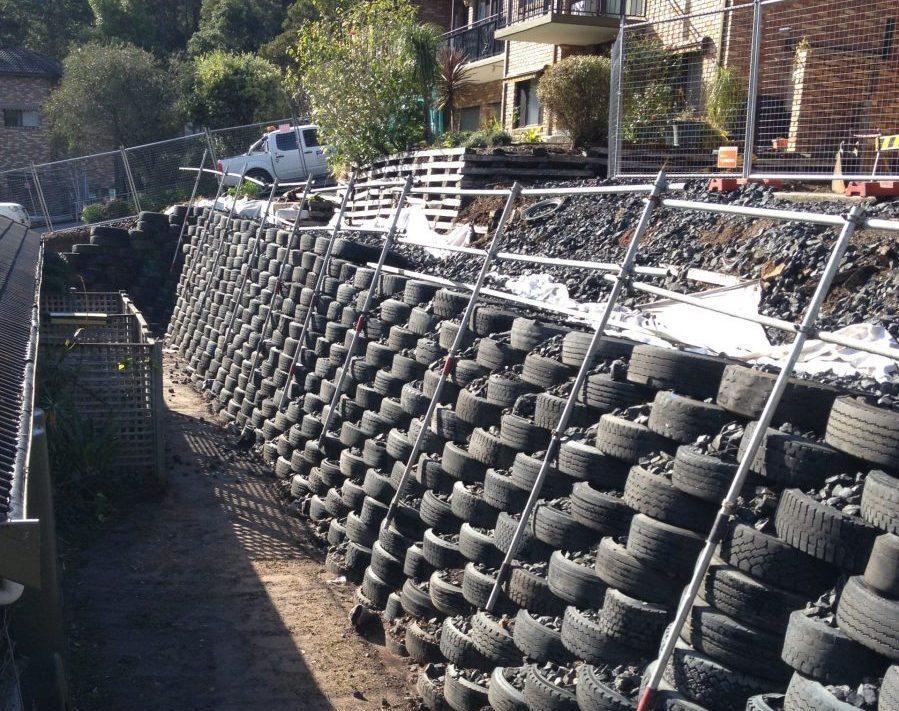 Retaining Walls/Crane Platforms/Erosion Protection-Drop Structure