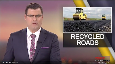 Video – Recycled Rubber Roads In The News – South Australian councils take part in major trial using recycled tyre rubber.