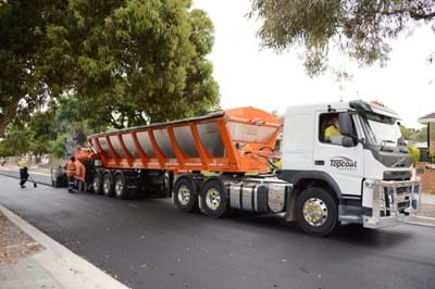 From old tyres to long lasting roads – South Australian councils take part in major trial using recycled tyre rubber.