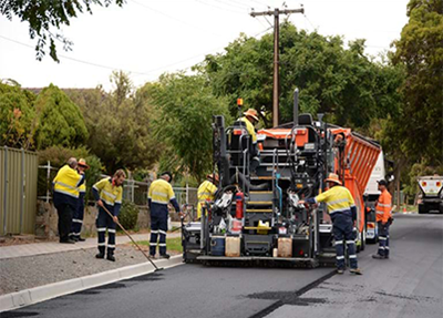 Australian test could see a doubling of old tyres used to create better roads