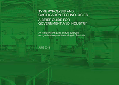TSA report demystifies Pyrolysis and Gasification of waste tyres