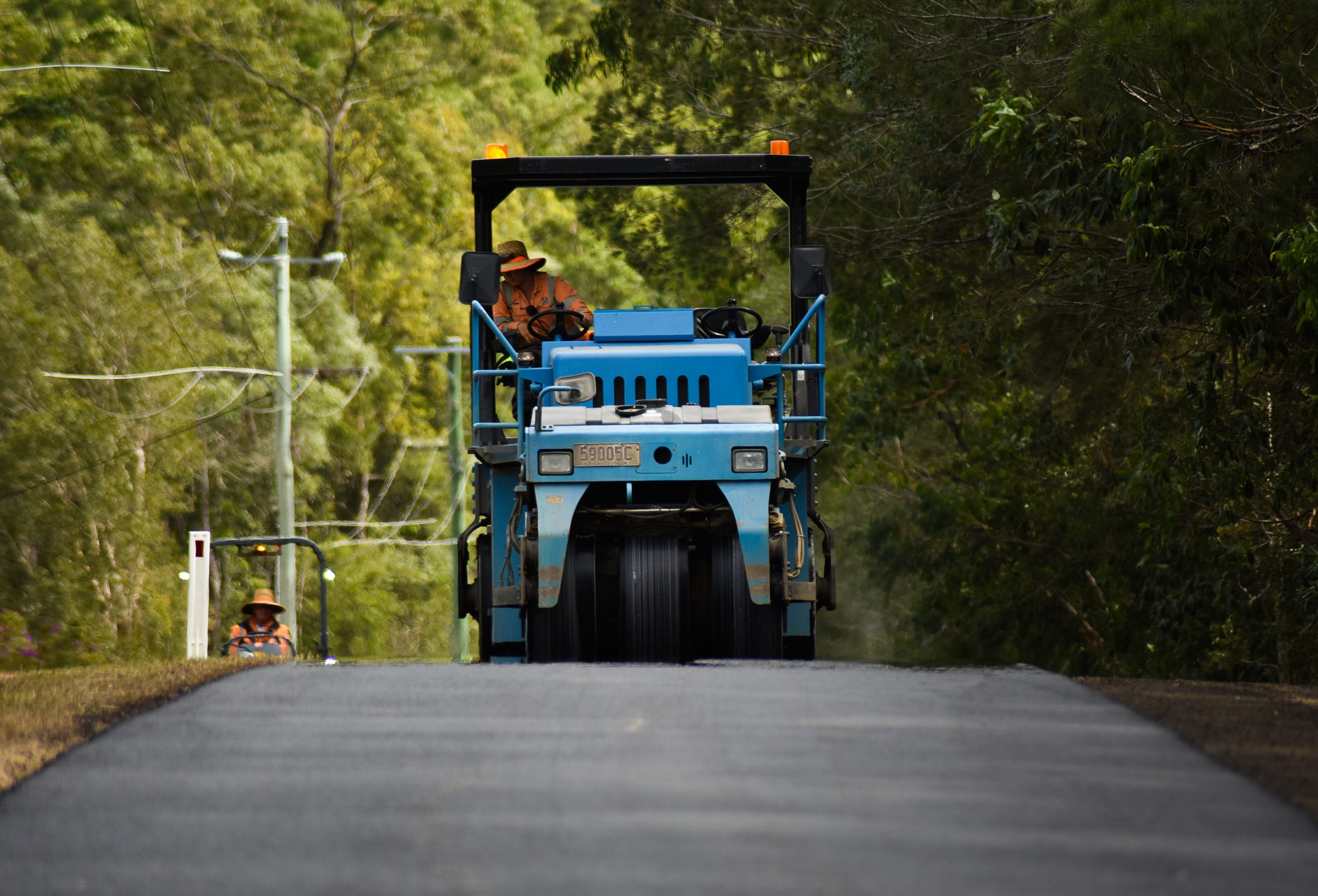 Old Rubber Hits the Road in QLD