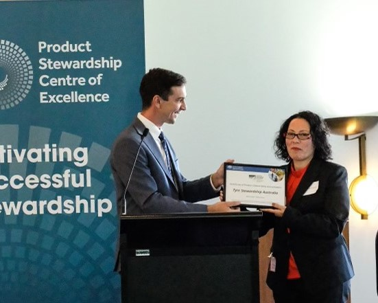 Tyre Stewardship Australia recognised as best practice product stewardship
