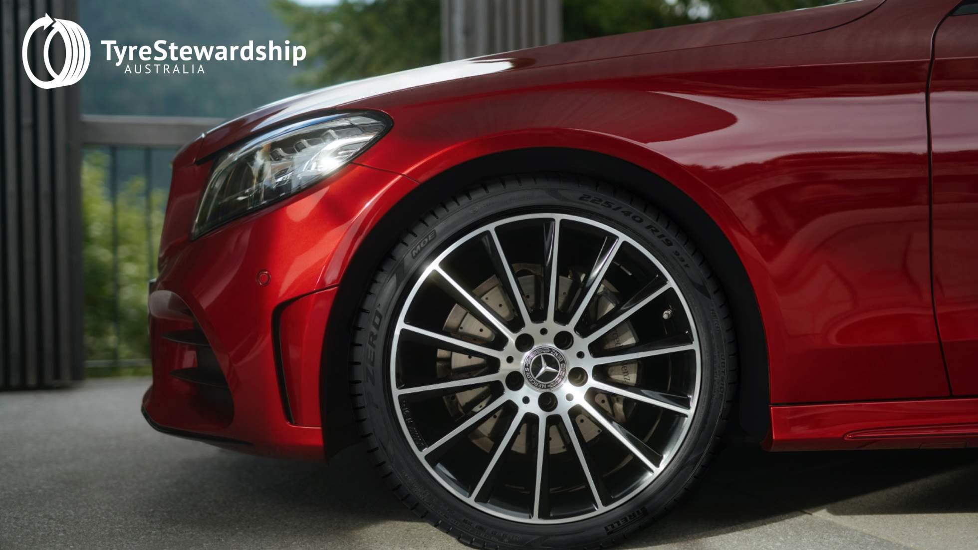 Tyre Stewardship Australia welcomes Mercedes-Benz Australia